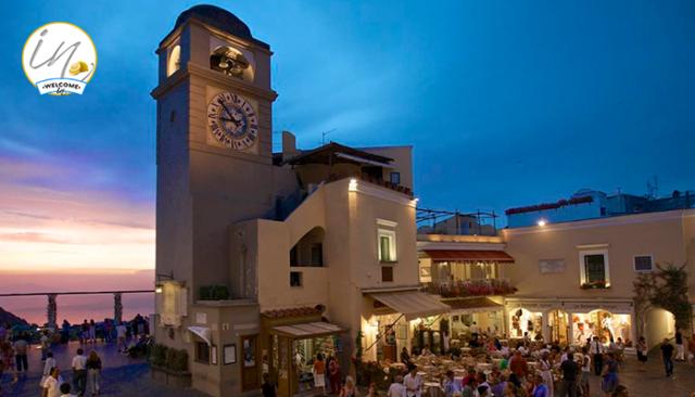 Piazzatta in Capri Island