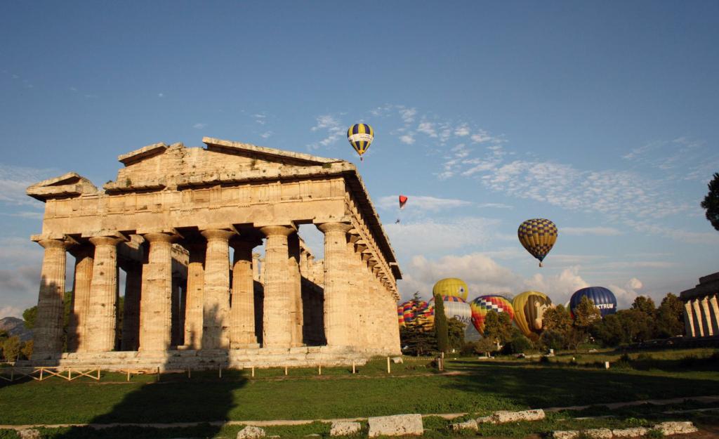 Paestum Ballon Sky Tour Cilento