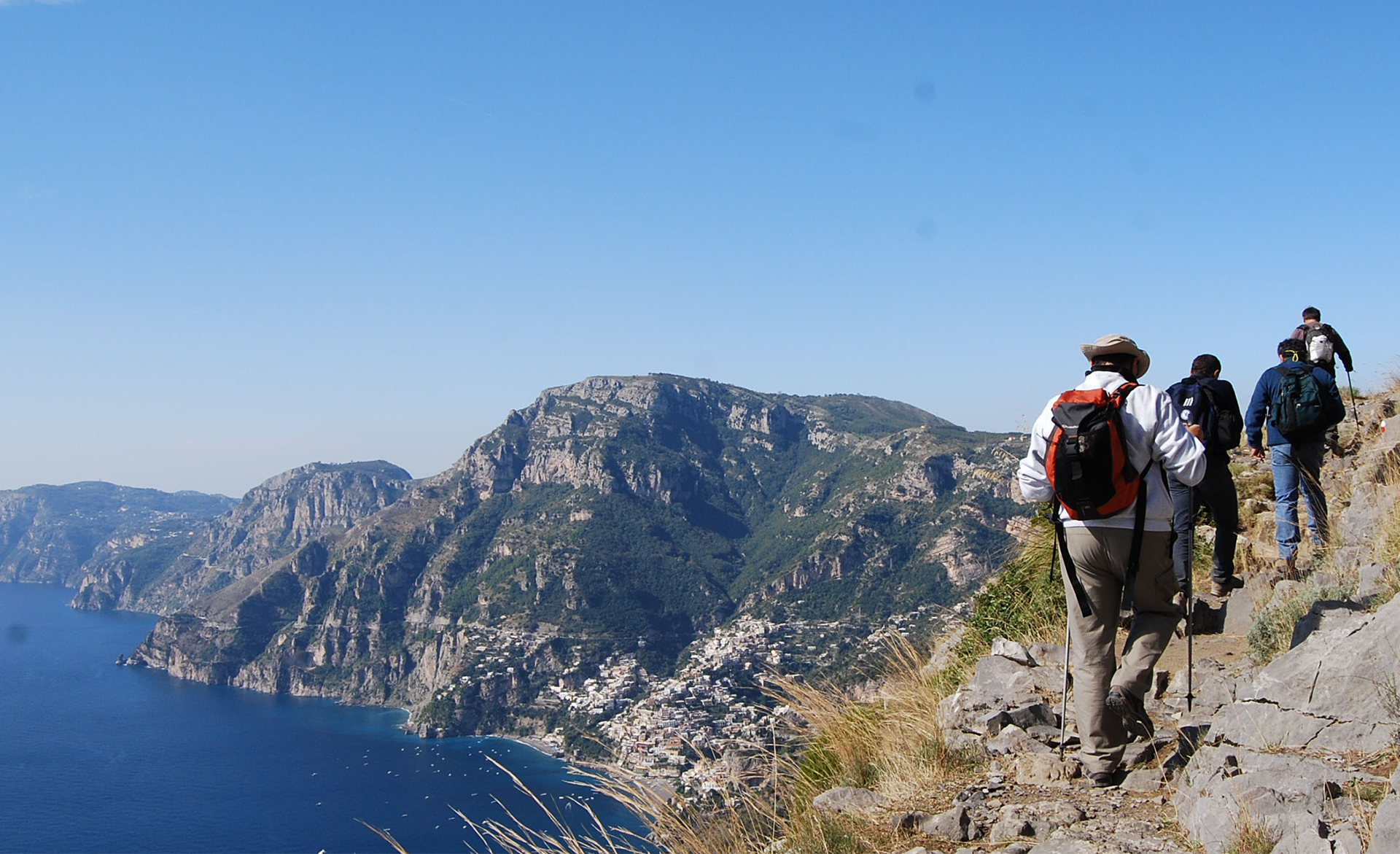 Amalfi Coast Activities: Trekking Hiking Path of gods